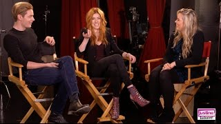 """Justine Magazine: """"Shadowhunters"""" Fun Cast Challenge With Kat, Dom, Harry & Isaiah!"""