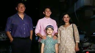 Matin Rey Tangu With Family At Salman