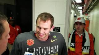 TigerNet.com - Hunter Renfrow talks National Championship