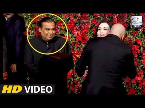 Xxx Mp4 Mukesh Ambani And Sanjay Dutt 39 S Bromance At Deepika And Ranveer 39 S Reception Party LehrenTV 3gp Sex