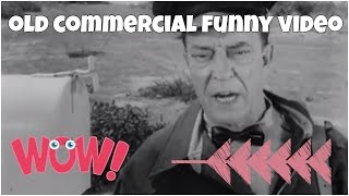 BW old commercial video with Buster Keaton ★ FUNNY Video 😂