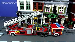 LEGO CITY FIRE STATIONS