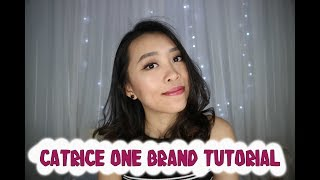 CATRICE ONE BRAND TUTORIAL || CHIKEZIA