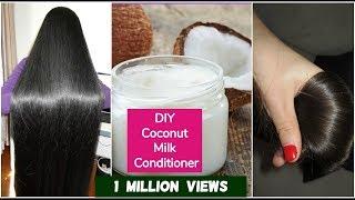 DIY Coconut Hair Conditioner For Silky Hair | Sushmita