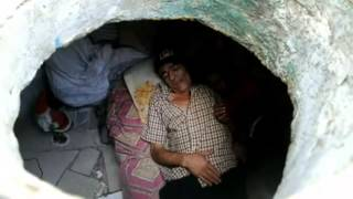 Colombian man & wife live in a sewer for 20 years - www.Houseless.org