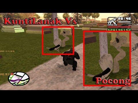 KuntiLanak Vs Pocong Fight GTA San Andreas CLEO DOWNLOAD LINK
