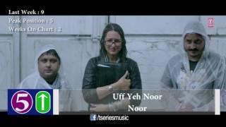 Top 10 Hindi Songs Of The Week - 8 April, 2017   Bollywood