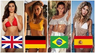 The Hottest WAGS Of The 2018 World Cup (Wives and Girlfriends)