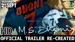 M.S.Dhoni - The Untold Story | Official Trailer & Songs | Sushant Rajput #2 | Neeraj Pandey
