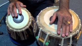 Tabla Lesson # 18 Tirkit Practice