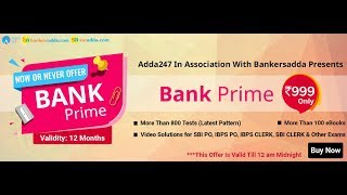 The Biggest Surprise by Adda247 is Here | Get Bank PRIME for Rs. 999