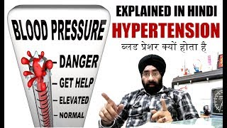 ब्लड प्रेशर | Blood Pressure Cure Explained (in hindi) | HYPERTENSION | Dr.Education | drp2r2m