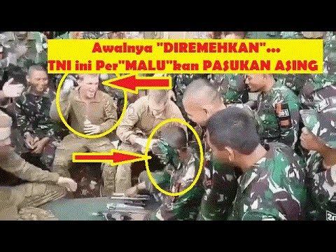 Diremehkan Akhirnya TNI Militer Indonesia Kalahkan Pasukan Asing ini