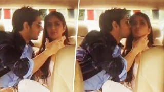 Sidharth Malhotra CAUGHT KISSING Katrina Kaif In Car