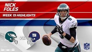 Nick Foles Highlights   Eagles vs. Giants   NFL Wk 15 Player Highlights