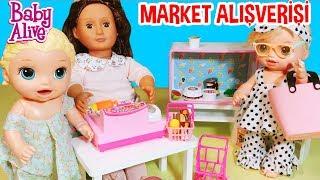 Baby Alive Kardeşler Yabancı Kuzenle Market Alışverişi | Oyuncak Butiğim
