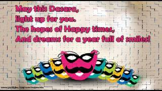 Happy Dasara/Dussehra wishes, Latest SMS, greetings, Happy Vijayadashmi whatsapp video message 3