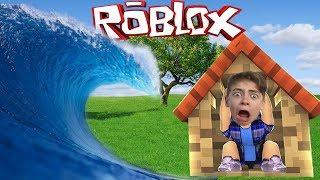 Построй Свой Плот  В игре Роблокс как майнкрафт Приключения мульт героя детский летсплей
