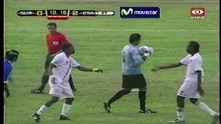 QWC 2010 Suriname vs. El Salvador 0-2 (10.09.2008)