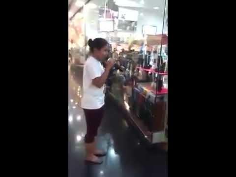 Trending to Napadaan lang sa mall. Sobrang galing. Song Patuloy ang Pangarap Angeline Quinto