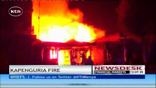 Hundreds of businesses destroyed by fire in Kapenguria