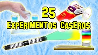 Los Mejores 25 Experimentos de Ciencia, Caseros y Fáciles - Experimentos Caseros