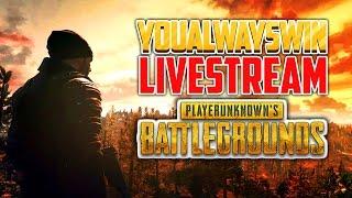Playerunknown's Battlegrounds Live 💀 YAW Live Stream (May 4, 2017)