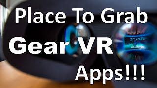 COLLECTION OF APPS: SAMSUNG GEAR VR!!!