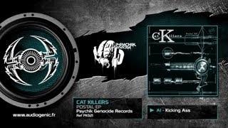 THE CAT KILLERS  - A1 - KICKING ASS - POSTAL EP - PKG21