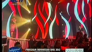 Regina Ivanova Ft Judika -  Making Love Out Of Nothing At All TOP 4 Indonesian Idol 2012.flv