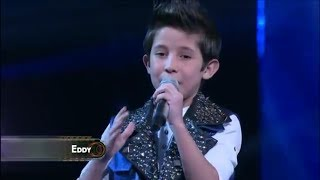 | Eddy Valenzuela | - AZUL - Cristian Castro - Academia Kids (Cover)