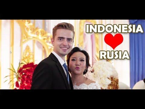 WEDDING VIDEO | MENIKAH DENGAN BULE RUSSIA | PERNIKAHAN BULE RUSIA DENGAN WANITA INDONESIA
