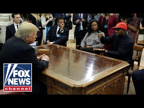 Xxx Mp4 President Trump And Kanye West Meet In Oval Office 3gp Sex