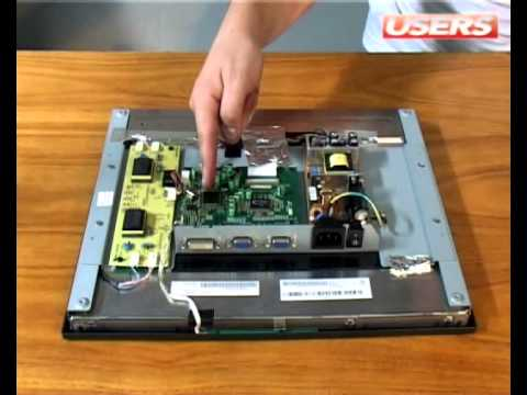 Desarmar monitor LCD