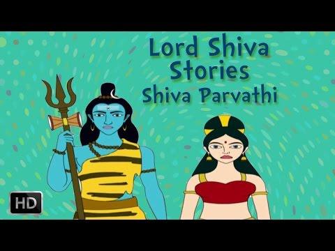 Lord Shiva and Parvati Stories - Marriage Of Shiva - Animated Mythological Story