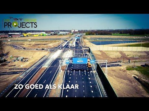 Eerste km's vanaf Enschede A35 - N18 Drone Projects