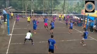 C quick set in local volley | Sooper spike | volleyball