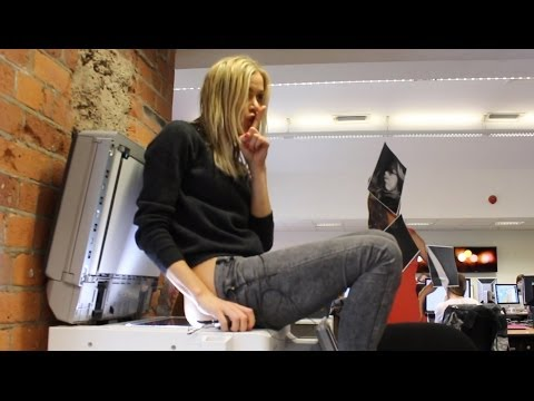Kate Lawler Fastest Time Photocopying 5 Body Parts World Record Wednesday