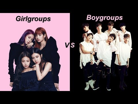 Comparing how boy and girlgroups are treated in Kpop