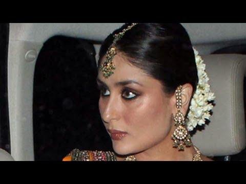 Kareena Kapoors's WEDDING Sangeet Makeup