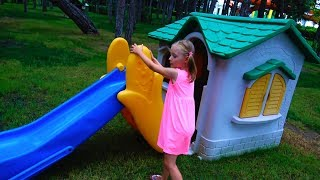 learn Colors with Baby on the Playground Finger Family Song Nursery Rhymes for Kids