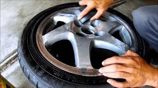 How To Polish Aluminum Wheels pt1