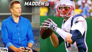 Tom Brady Plays Madden 18 AGAINST Odell Beckham Jr GAMEPLAY PARODY (IF BRADY PLAYED MADDEN 18)