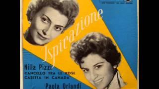 NILLA PIZZI     CASETTA IN CANADA'      1957