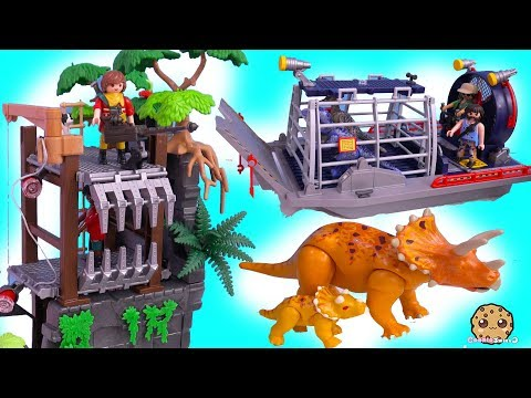 Xxx Mp4 Dinosaur Haul Playmobil Dino Explorer Toy Sets Cookie Swirl C 3gp Sex