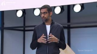 Mobile first to AI first - Google I O'17
