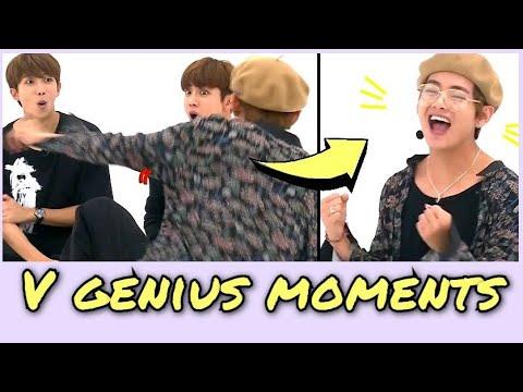 Kim Taehyung genius moments part 2 BTS