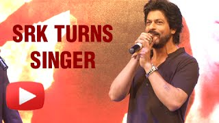 (VIDEO) Shah Rukh Khan Sings Jabra Fan Song Live For Fans | Fan Trailer Launch
