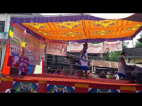 chitwan tharu girl dancing hajipur hili ki gaji pur hili song