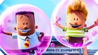 "CAPTAIN UNDERPANTS - ""Best Of Pranks!"" Movie Clip (Animation, 2017)"